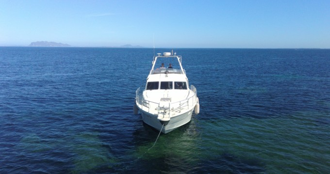 Hire Motorboat with or without skipper Raffaelli Marsala
