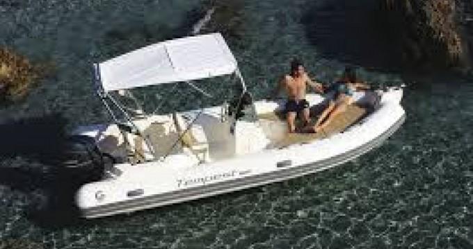 Boat rental Port de Hyères (St Pierre) cheap Tempest 630