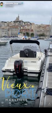 Rental Motorboat in Old Port of Marseille - Quicksilver Activ 605 Open Pack Sport