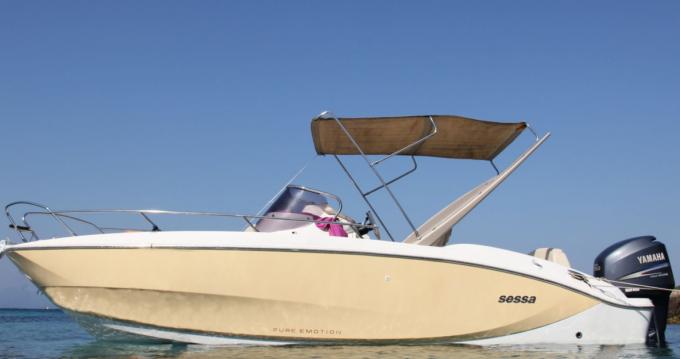 Rental yacht Toulon Ferry Port - Sessa Marine Key Largo 24 on SamBoat