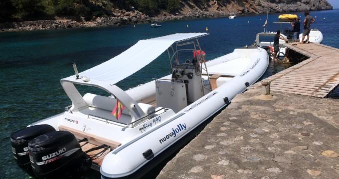 Boat rental Nuova Jolly King 990 in Port de Sóller on Samboat