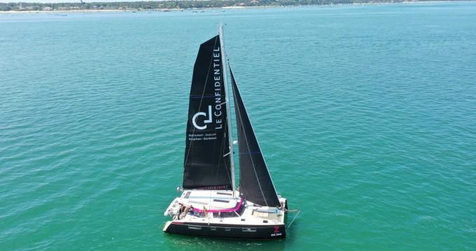 Boat rental Arcachon cheap Nautitech 46