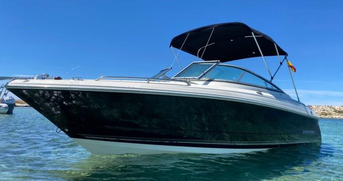 Rental Motorboat in Ibiza Town - Monterey MONTEREY 234FS