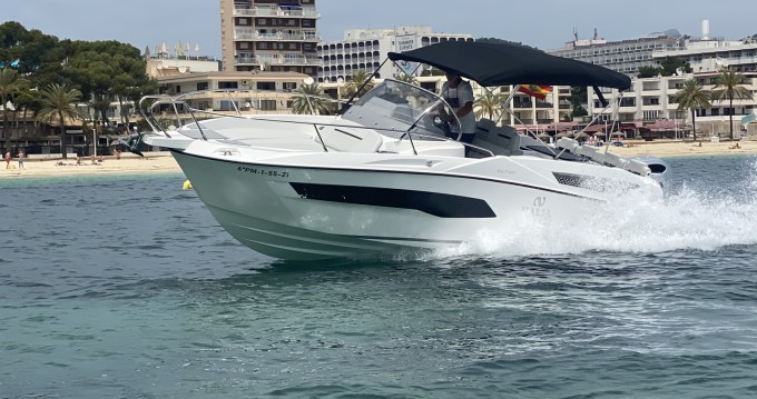 Motorboat for rent Puerto Portals at the best price