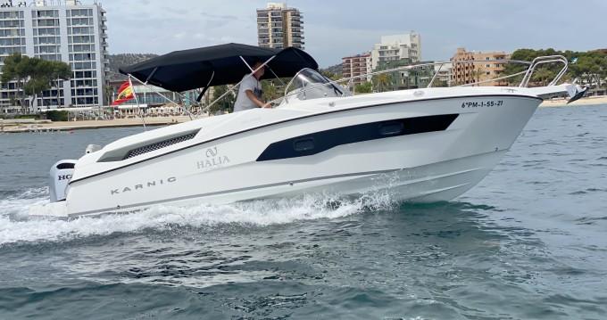 Boat rental Karnic SL702 in Puerto Portals on Samboat