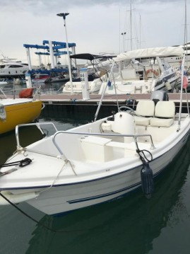 Rent a Quicksilver Quicksilver 440 Fish Cannes