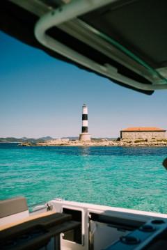 Jeanneau Cap Camarat 9.0 CC between personal and professional Ibiza Island