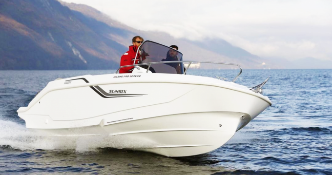 Hire Motorboat with or without skipper Sunsix Paxoi