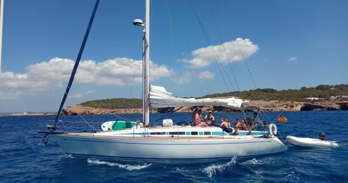 Boat rental Palma de Mallorca cheap swan 40