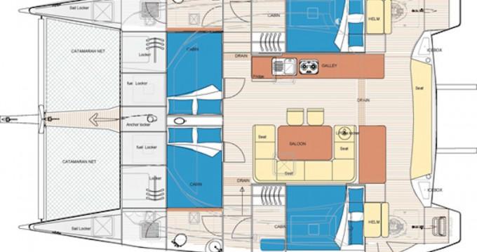 Rental Catamaran in Ko Chang -  Island Spirit 380