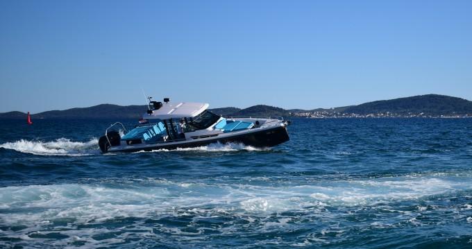 Boat rental Zadar cheap Axopar 37 T-Top