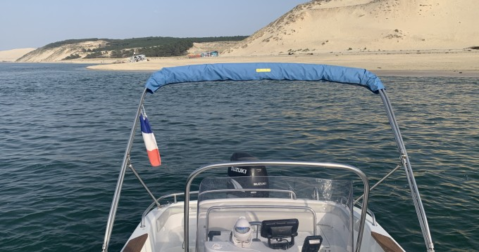 Hire Motorboat with or without skipper sea star Arcachon