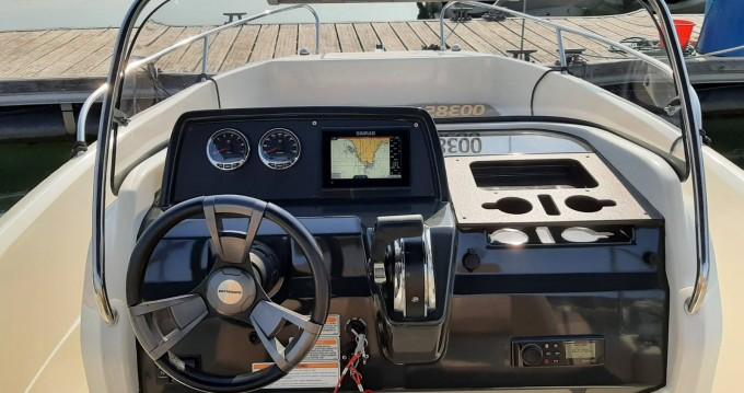 Boat rental Quicksilver Activ 605 Open in Pula on Samboat