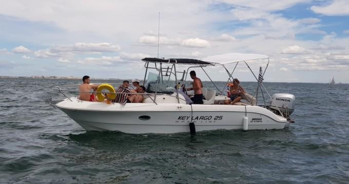 Rental Motorboat in Palavas-les-Flots - Sessa Marine Key Largo 25