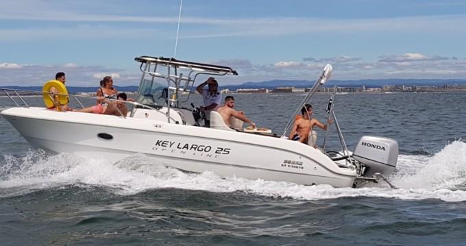 Sessa Marine Key Largo 25 between personal and professional Palavas-les-Flots