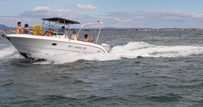 Boat rental Palavas-les-Flots cheap Key Largo 25