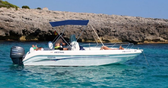 Boat rental Port Olona cheap Aquamar 20
