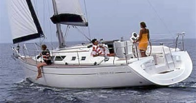 Jeanneau Sun Odyssey 37 between personal and professional Volos