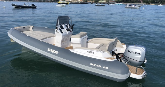 Boat rental Cap Ferret cheap Salpa Soleil 20