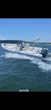 Joker Boat Clubman 26 between personal and professional Lège-Cap-Ferret