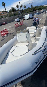 Hire RIB with or without skipper Bombard Baie de la Ciotat