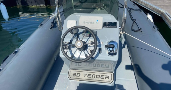 Rental RIB in La Rochelle - 3D Tender Patrol 6,50