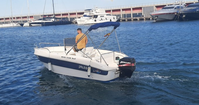 Hire Motorboat with or without skipper Rio Port de Barcelona