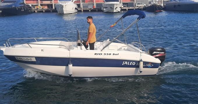 Rent a Rio 550 SOL Port de Barcelona
