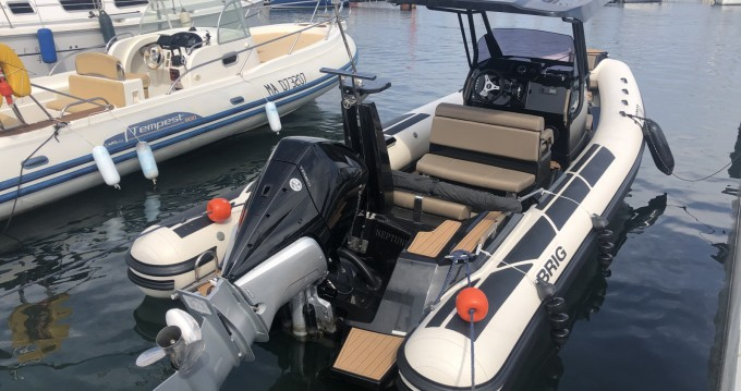 Hire RIB with or without skipper Brig Six-Fours-les-Plages