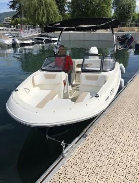 Rental Motorboat in Aix-les-Bains - Bayliner VR4OE
