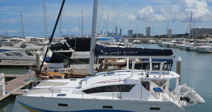 Hire Catamaran with or without skipper  Phuket Yacht Haven Marina