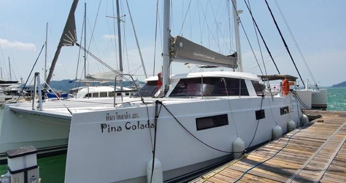 Boat rental Phuket Yacht Haven Marina cheap Nautitech 40 Open