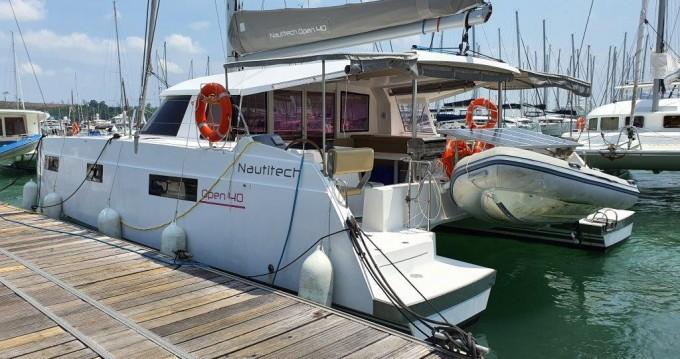 Nautitech Nautitech 40 Open  between personal and professional Phuket Yacht Haven Marina