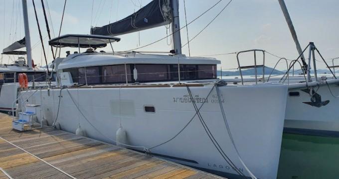 Rent a Lagoon Lagoon 450 Sport Top Phuket Yacht Haven Marina