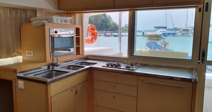 Catamaran for rent Phuket Yacht Haven Marina at the best price