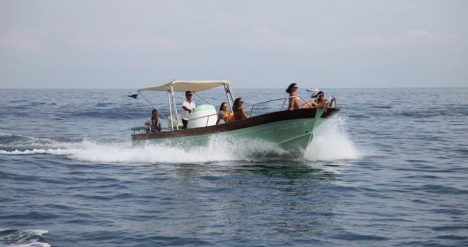 Boat rental Maiori cheap Aqua Peche 400
