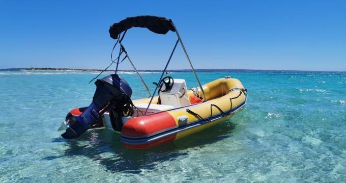 Boat rental Astec tender 410 in Formentera on Samboat