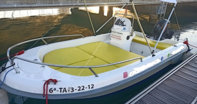 Rental Motorboat Astillero with a permit