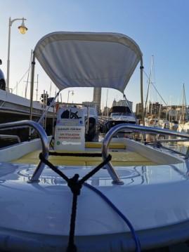 Rental Motorboat in Port de Alicante - Astillero Fiber 400