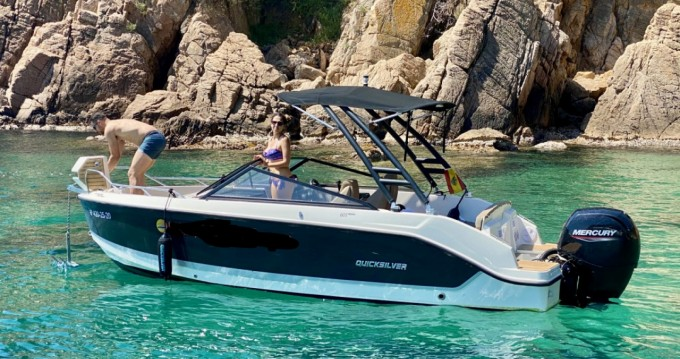 Hire Motorboat with or without skipper Quicksilver Blanes
