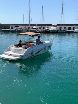 Hire Motorboat with or without skipper Chaparral Port Ginesta