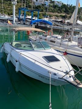 Boat rental Port Ginesta cheap Chaparral 235 SSI