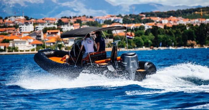Boat rental Zadar cheap Eagle 6.7