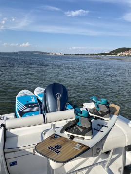 Motorboat for rent Sète at the best price