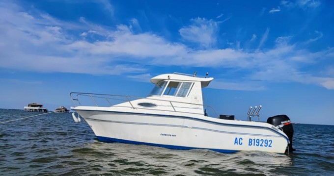 Rental Motorboat in Arcachon - Jeanneau Merry Fisher 605 HB