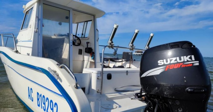 Jeanneau Merry Fisher 605 HB between personal and professional Arcachon