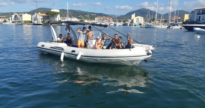 Boat rental Grimaud cheap Tempest 770