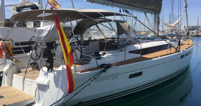 Boat rental Jeanneau Sun Odyssey 509 in Ibiza Island on Samboat