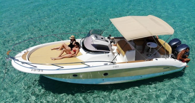 Motorboat for rent Ibiza Island at the best price