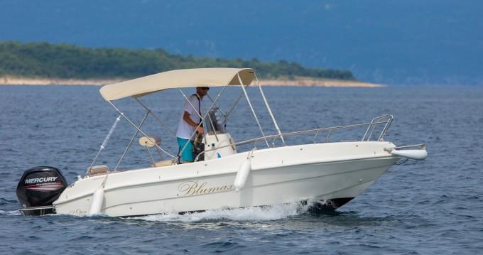 Boat rental Malinska cheap 550 Open